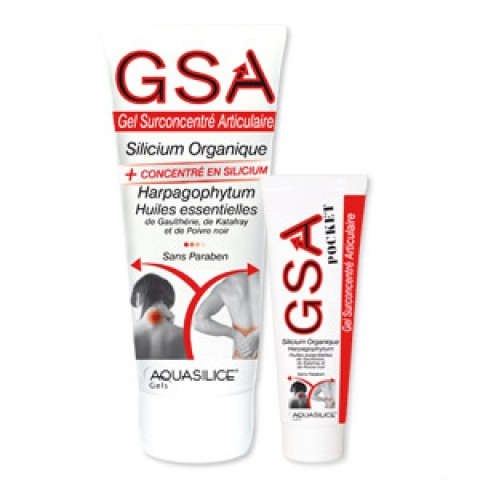 GEL GSA 200ML LABORATOIRE AQUASILICE