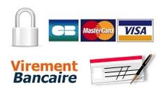 mode de paiements acceptés